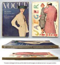 Vogue Magazine - 1956 - March